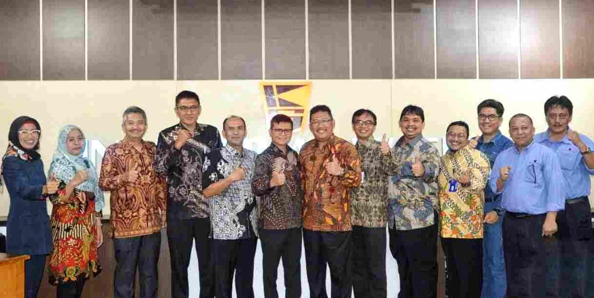 Pisah Sambut Direksi PT Krakatau Tirta Industri