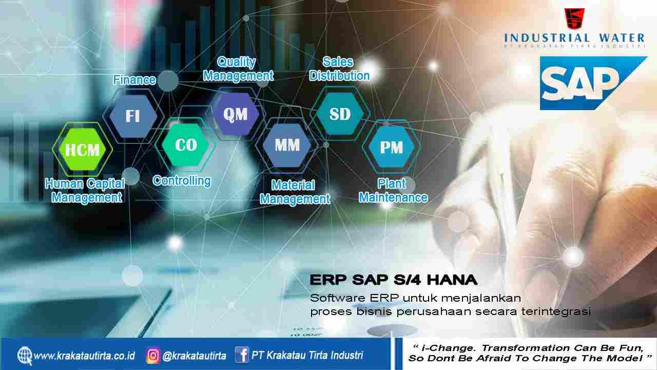 Mencapai Perusahaan Kelas Dunia, PT Krakatau Tirta Industri Siap Implementasi ERP SAP S/4HANA